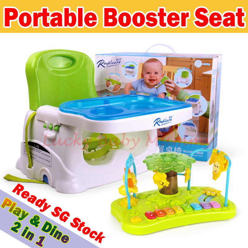 vmall portable booster seat dining table baby dining. Black Bedroom Furniture Sets. Home Design Ideas