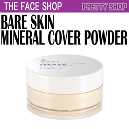 ★The Face Shop★ Bare Skin Mineral Cover Powder SPF27 PA++(15g)