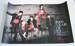SHINee - 2009, Year Of Us (3rd Mini Album) OFFICIAL POSTER