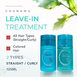Chanamu S C Leave-in Treatment (125ML) ★ Tea Tree Oil ★ Made in Korea ★ DRY AND DAMAGED HAIR