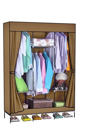 Wardrobe Closet Shelves Cabinet Organizer Cupboard Home Bags