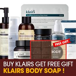 Free SOAP [KLAIRS] Skin Care Products: toner serum cream moisturizer sunblock/
