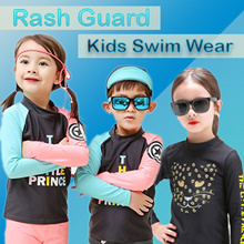 [HowRU] ★Swim Wear New ★Rash Guard Swim wear Korea Kid Top Brand / Christmas Gift