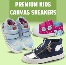 Shoes Kids Spring Boys High Sneakers Canvas Denim Kids Perpet Tali