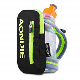 AONIJIE Outdoor Running Bag With 250ML Handheld Water Bottle Hydration Pack Hiking Cycling Running K