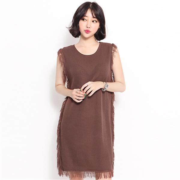 0620ロスルリワンピースnew ニットワンピース/ワンピース/韓国ファッション