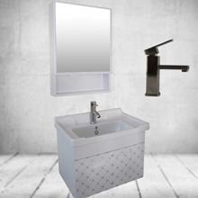 Aluminum Simple Bathroom Cabinets Bathroom Combo Bathroom Vanity Sink Cabinet Bathroom Sink Cabinet