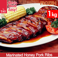 #1 BESTSELLER [CS Tay] Marinated Honey Pork Ribs (1KG)!