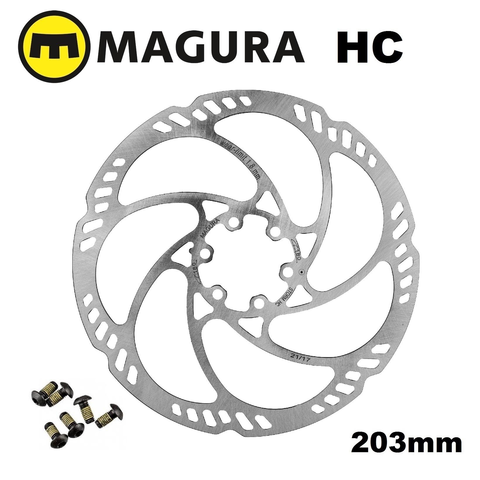 Magura Storm HC Rotor 203mm 6-Bolt