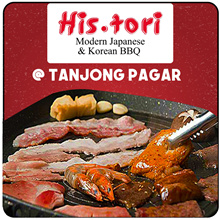 [His.tori] Grand Reopening! Korean N Japanese BBQ BUFFET! Located at Tanjong Pagar |