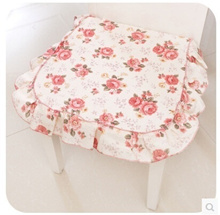 1 Korean high-end lace fabric cushion mat tatami dining chair cushion chair cushions K3965
