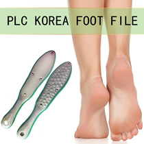 [ PLC ] KOREA STAINLESS STEEL FOOT FILE / NAIL SALON SELL $68-$128! / NON RUST / HIGH QUALITY