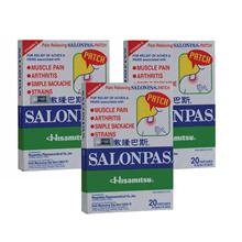 Salonpas Patch 20pcs X 3 packs