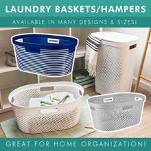 [BL] LAUNDRY BASKETS / RACKS / HAMPERS / BASKETS | MULTIPLE DESIGNS