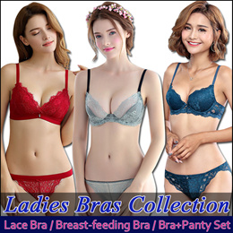 2019 NEW DESIGNS LADIES BRAS COLLECTION*Breast-feeding Bra*Wireless/Underwire Bras*Push Up*Bra+Panty