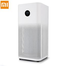 新Mi智能空气净化器2S OLED显示屏Mi Home APP控制烟雾清洁PM2.5粉尘特有的气味清洁空气净化器