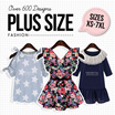 2016 Zashion New European PLUS SIZE ~BUY 4 FREE SHIPPING~
