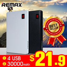 🌟LOWEST PRICE🌟Remax NOTE 30000mAh🌟2.1A fast charging🌟Big Capacity Powerbank