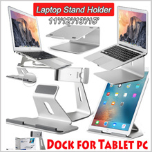 Laptop Aluminum  Stands Tablet Dock Holder Bracket for  Apple Macbook Air Pro Retina 11/12/13/15