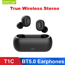QCY T1 TWS Headphones Wireless Bluetooth 5.0 Earphones like airpods for Xiaomi iphone se