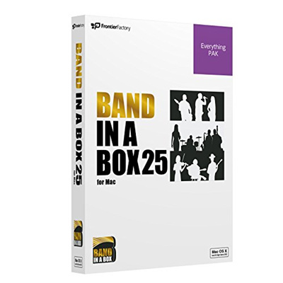 PG Music pi-zi-myu-zikku Auto Composer App Band – In – A – Box 25 For Mac  EverythingPAK bando・in・a・b