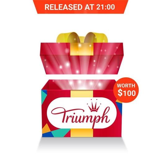 [S$120.00](▼50%)TRIUMPH SURPRISE BRAND BOX