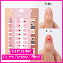 [GELATOFACTORY🍦 OFFICIAL] One Step Gel Nail Strips★Get salon quality results in minutes at home