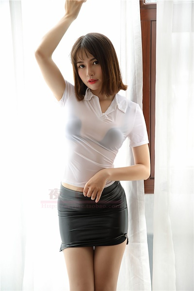 48715f738 wholesale Sexy High Waist PU Faux Leather Micro MINI Skirt OL Tight Pencil  Skirt Wet Look