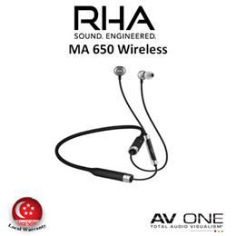 [RHA] MA650 Wireless Bluetooth in-ear headphone / 3 years local warranty