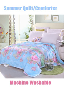 ★Warehouse direct sale! ★【Summer Comforter/Blanket/Quilt】 Cheap n good!