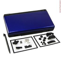 2016 Hot Sale Blue&amp Black Protective Housing Shell Case Kit For Nintendo Ds Lite Ndsl