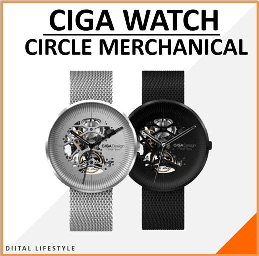 [S$218.00](▼64%)[Xiaomi]Original Xiaomi CIGA Design MY Series Watch Mechanical Wristwatches Fashion Luxury Watch MenWomen iF