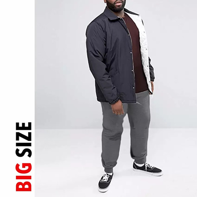 JFashion BIG SIZE Mens Jogger Pants [ONE SIZE] - Evan Abu Tua
