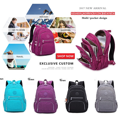 fd278477ed TEGAOTE® School Backpack for Teenage Girl Mochila Feminina Women Backpacks  Nylon Waterproof Casual