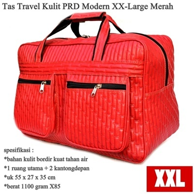 Tas Travel Kulit PRD Modern XX-Large