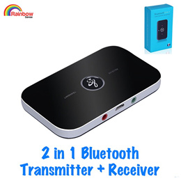 2-In-1 Wireless Bluetooth Transmitter + Receiver★Adapter Speaker Audio★Music Streaming★Switchable★