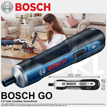 Bosch GO 3.6V Cordless Screwdriver