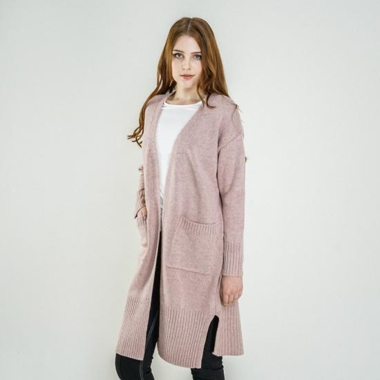 渓谷をロング丈ニットカディゴン527860 面ワンピース/ 韓国ファッション