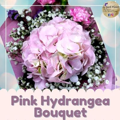Pink Hydrangea Bouquet