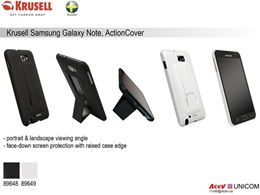 Krusell Samsung Note case with stand ActionCover