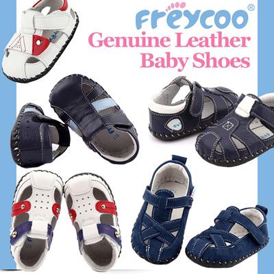 Freycoo Genuine Leather Kids Boys Formal Wedding Party Shoes Sz 5 6 7 8 9 10