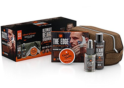 [sb]Ultimate Beard Grooming Collection For Men by Wild Willies  Includes  Beard Oil, Beard Balm Condi