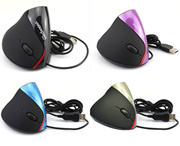 WOWPEN Vertical Ergonomic Right-hand Engineer Optical Wired Computer Mouse USB Gaming Mice for PC Laptop Notebook