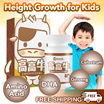 [Buy 2 Free Shipping] Children Height Growth Chocolate Flavor with Colostrum Calcium DHA Ginseng