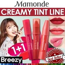 2018 AUTUMN NEW!!★1+1★NEW!  [MAMONDE] Creamy Tint Color Balm Intense / Light / Squeeze Lip