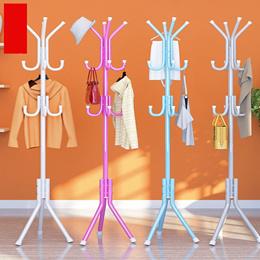 Clothes Hanger Garment Hanger Floor Standing Rack standing hanger Coat Bag Rack|Belt Pole Rack