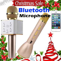 ★ SG WARRANTY ★ READY STOCKS ★ SOLD OVER 2000 PCS !! Wireless Bluetooth Karaoke Microphone | K068 K088 Q7 For iOS Android | KTV PLAYER | Bluetooth Speaker