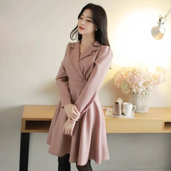 フィオナシャシャブロンズopsm5326ワンピース シフォン/レースのワンピース/ 韓国ファッション