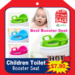 Children/kids / toddler / baby Candy Colour Toilet Seat Booster