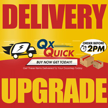 Chilled item delivery upgrade. Do contact seller before purchasing if you wish to upgrade to QXQuick